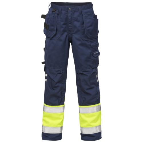 High Vis Handwerkerhose Kl. 1 2029 PLU