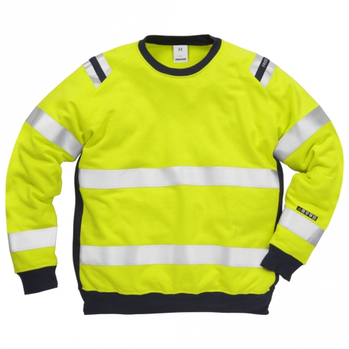Flamestat High Vis Sweatshirt Kl. 3 7076 SFLH