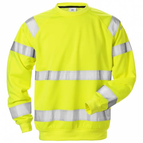 High Vis Sweatshirt Kl. 3 7446 SHV