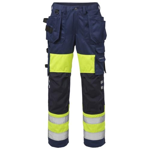 High Vis Handwerkerhose Damen Kl. 1 2129 PLU