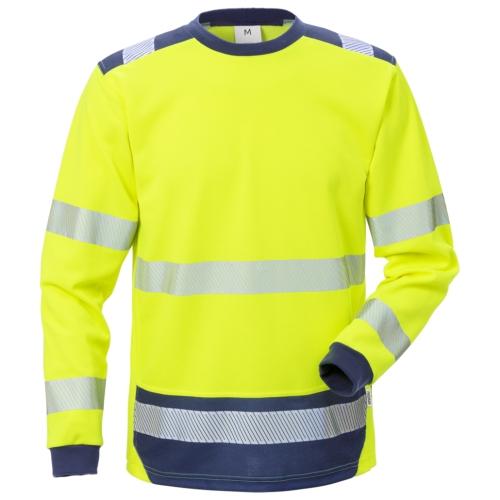High Vis T-Shirt Langarm 7724 THV