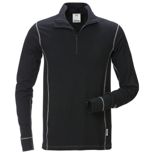 Flamestat Zipper-T-Shirt Langarm 7029 MOF
