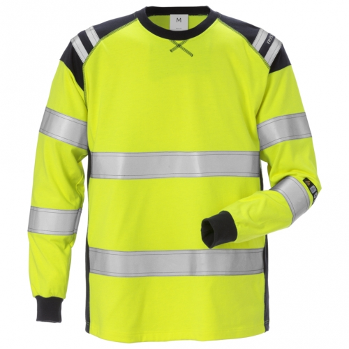 Flamestat High Vis T-Shirt Langarm Kl. 3 7077 TFLH