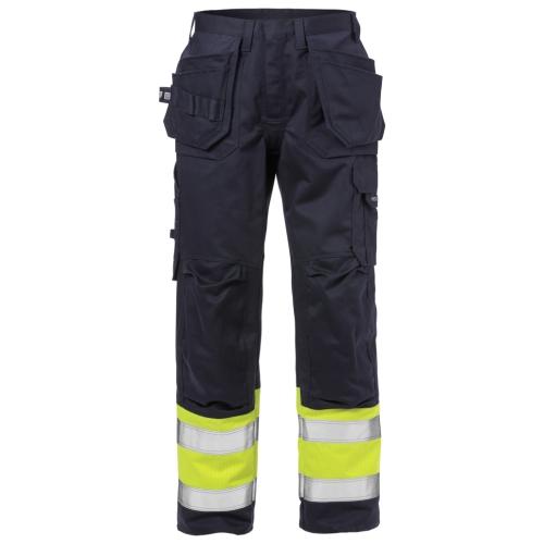 Flame High Vis Handwerkerhose Kl. 1 2586 FLAM