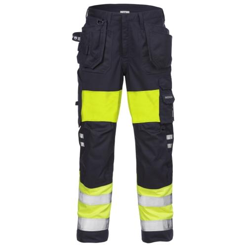 Flamestat High Vis Handwerkerhose Damen Kl. 1 2777 ATHS