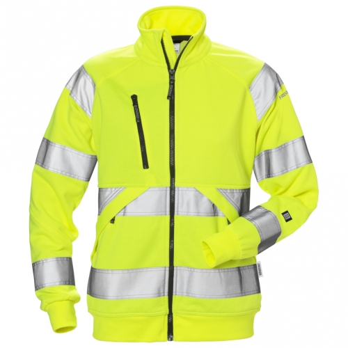 High Vis Sweatjacke Damen Kl. 3 7427 SHV