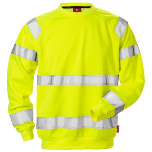 High Vis Sweatshirt Kl. 3 7084 SHV