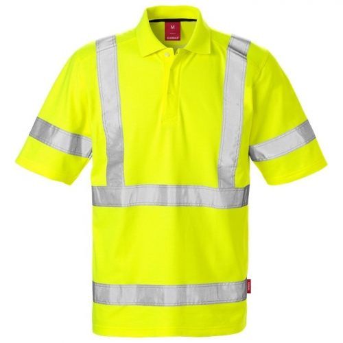 High Vis Poloshirt Kl. 3 7086 PHV