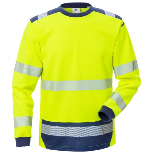 High Vis T-Shirt Langarm Kl. 3 7089 THV
