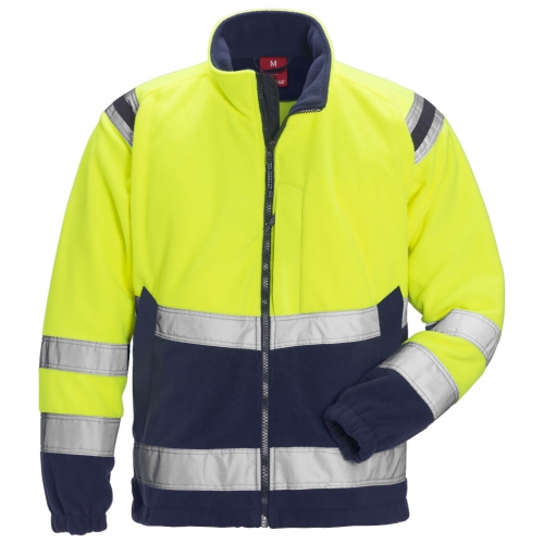High Vis Fleecejacke Kl. 3