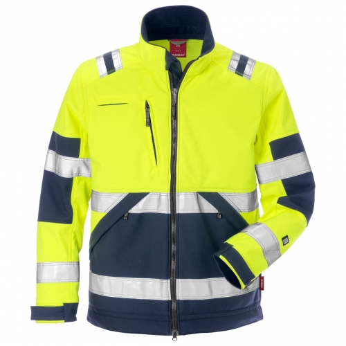 High Vis Softshell-Jacke Kl. 2 4083 WYH