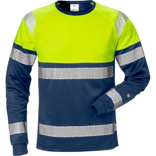 High Vis T-Shirt Langarm 7519 THV