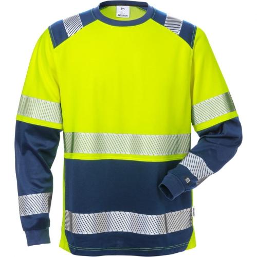 High Vis T-Shirt Langarm, 7457 THV