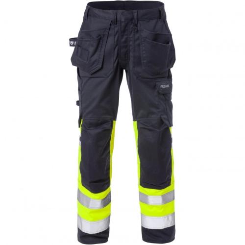 Flamestat High Vis Stretch-Handwerkerhose Damen, 2171 ATHF