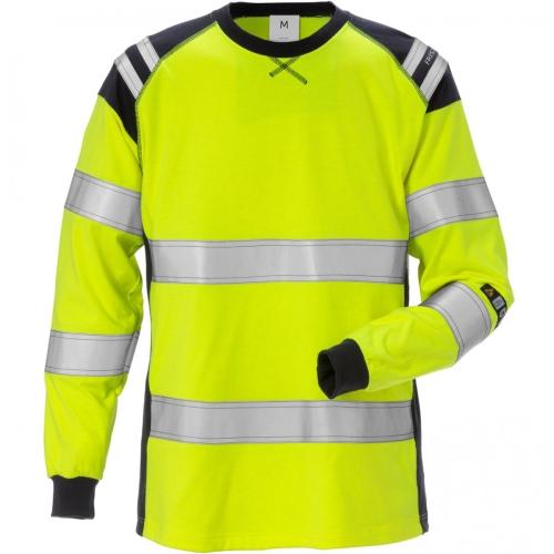 Flamestat High Vis T-Shirt, Langarm, Damen 7097 TFLH