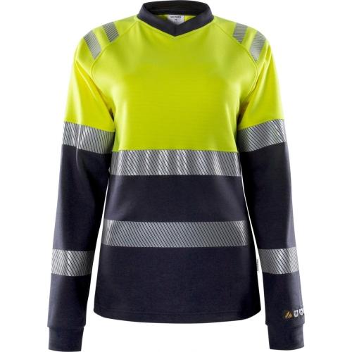 Damen Flamestat High Vis T-Shirt, La. 7108 TFL